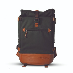 compagnon 카메라 백팩 the backpack 2.0 (Green/Brown)