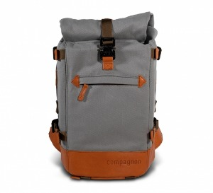 compagnon - the little backpack (Grey/Light Brown)