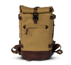 compagnon - the little backpack (Sand/Dark Brown)